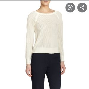 Rag & Bone pullerover Shelby mesh sweater knit
